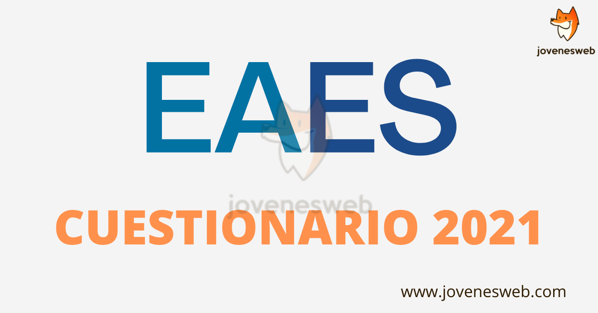 EAES Cuestionario 2021 EAES